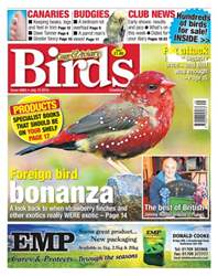 Cage & Aviary Birds issue No. 5863 Foreign bird bonanza