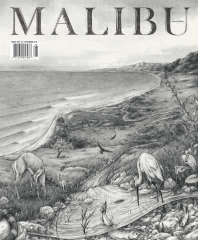 Malibu Magazine issue August 2015