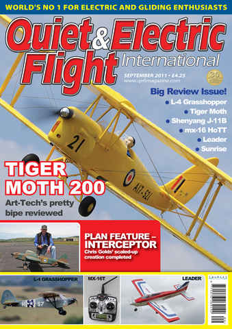 Quiet & Electric Flight Inter issue September 2011