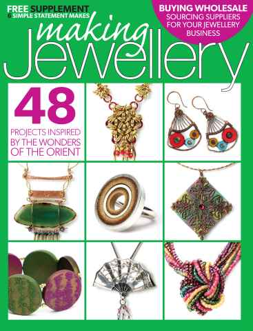Making Jewellery issue August 2015
