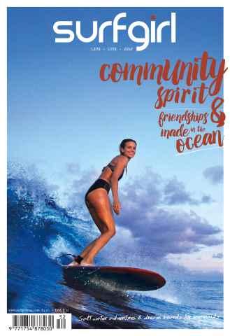SurfGirl Magazine issue SurfGirl issue 52