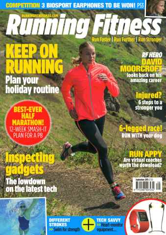 Running Fitness issue No.180 Keep on running