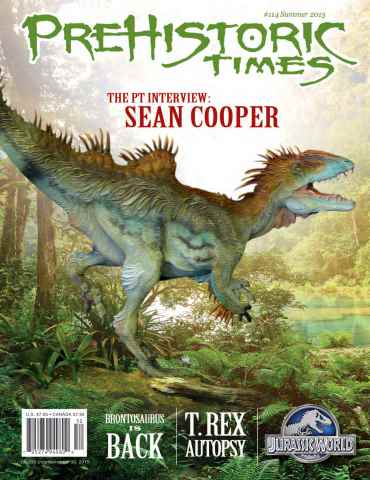 Prehistoric Times issue Summer 2015