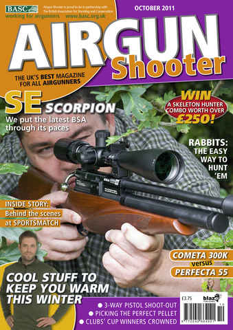 Airgun Shooter issue October 2011