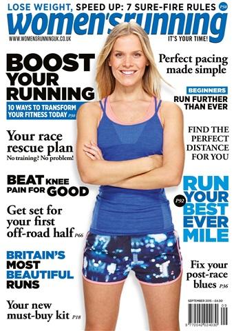 Women's Running issue women's running September 2015