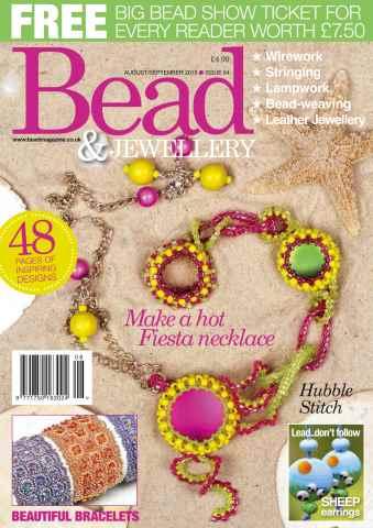 Bead Magazine issue AUG/SEPT 2015