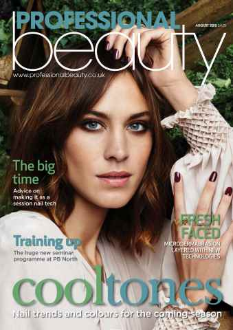 Professional Beauty issue PB August 2015
