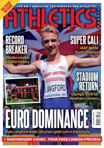 Athletics Weekly issue 23 July 2015