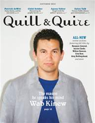 Quill & Quire issue September 2015