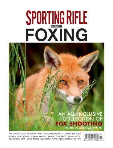 Sporting Rifle issue Sporting Rifle Presents Foxing