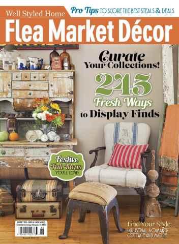 Flea Market Décor issue September-October 15
