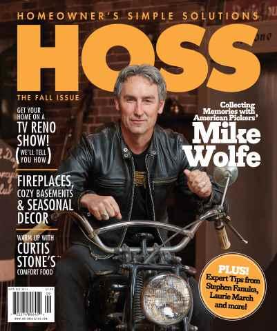 HOSS Magazine issue Sept/Oct 2015 Cozy Issue