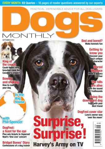 Dogs Monthly issue September 2015