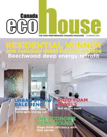 ecoHouse Canada issue Summer 2015