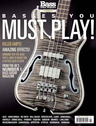 Bass Guitar issue Basses You Must Play – Special