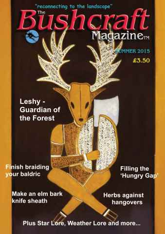 Bushcraft Magazine issue Summer 2015