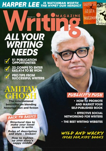 Writing Magazine issue September 2015