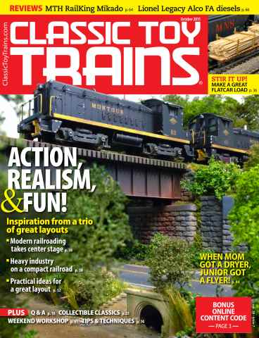 Classic Toy Trains issue October 2015