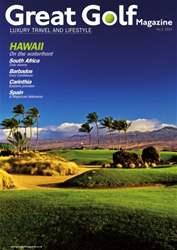 Great Golf Magazine Summer 2015 issue Great Golf Magazine Summer 2015