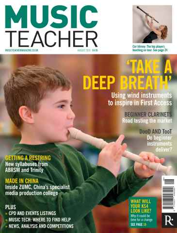 Music Teacher issue August 2015
