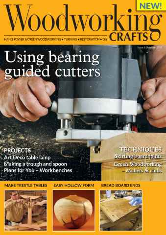 Woodworking Crafts Magazine issue October 2015