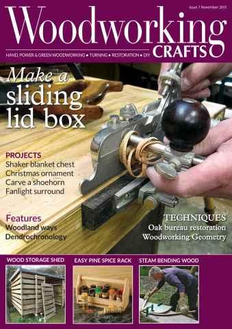 Woodworking Crafts Magazine issue November 2015