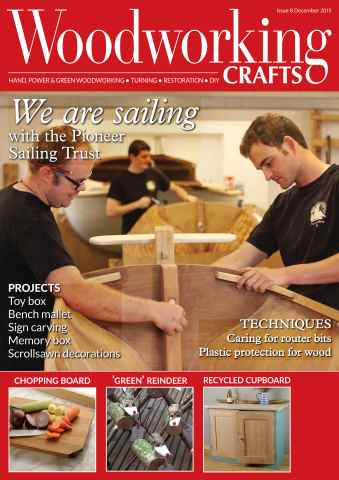 Woodworking Crafts Magazine issue December 2015