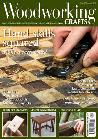 Woodworking Crafts Magazine issue February 2016