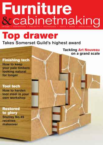 Furniture & Cabinetmaking issue October 2015