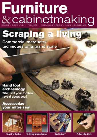 Furniture & Cabinetmaking issue November 2015