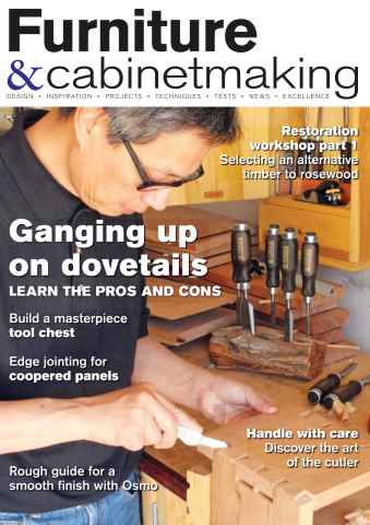 Furniture & Cabinetmaking issue December 2015