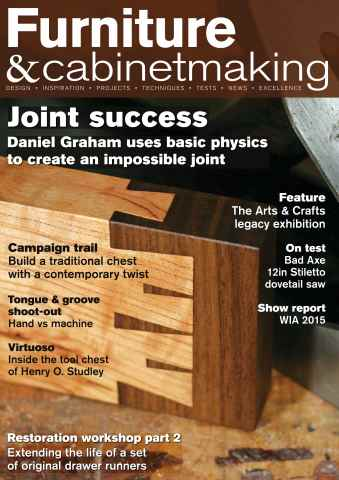 Furniture & Cabinetmaking issue Winter 2015