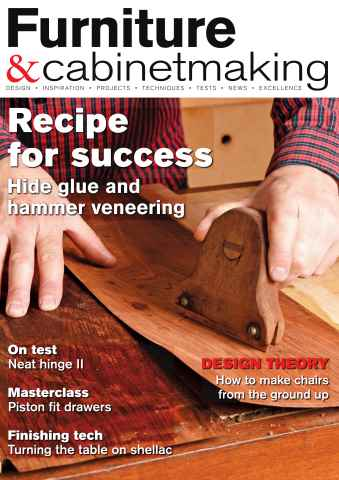 Furniture & Cabinetmaking issue January 2016
