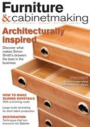Furniture & Cabinetmaking issue June 2016