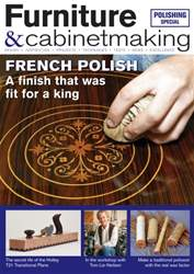 Furniture & Cabinetmaking issue July 2016