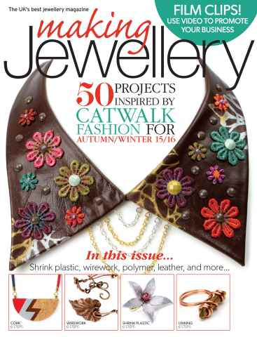Making Jewellery issue September 2015