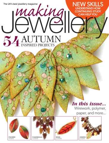 Making Jewellery issue November 2015