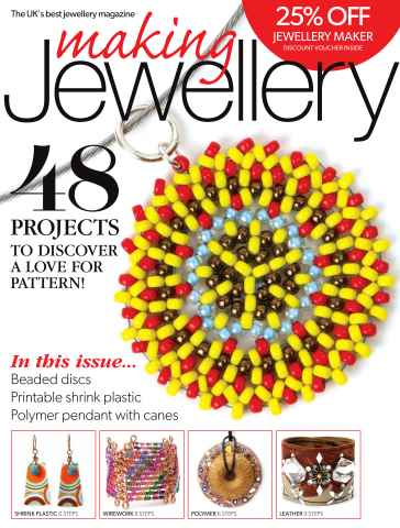 Making Jewellery issue January 2016