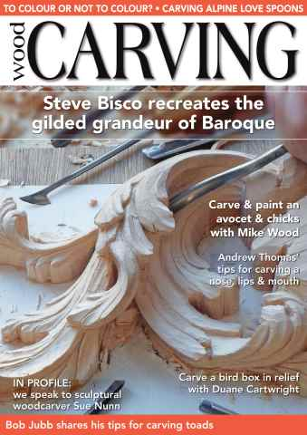 Woodcarving issue September/October 2015