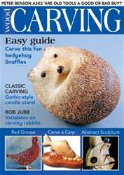 Woodcarving issue March/April 2016