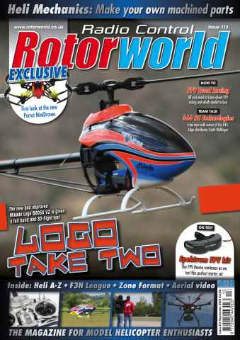 Radio Control Rotor World issue Sept 113