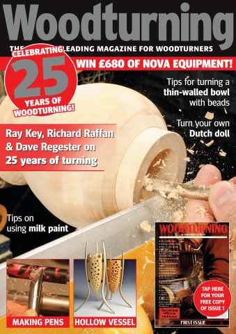 Woodturning issue October 2015