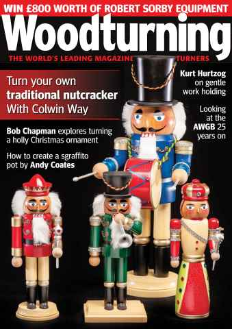 Woodturning issue December 2015