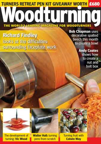Woodturning issue Winter 2015