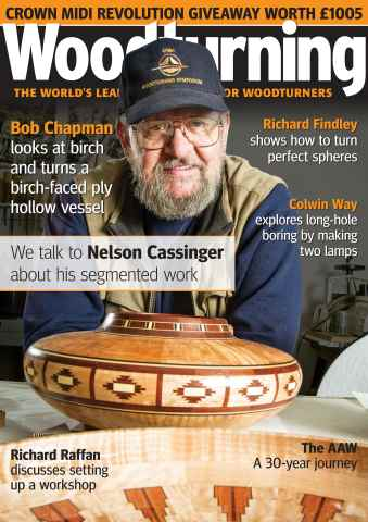 Woodturning issue February 2016