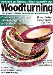 Woodturning issue May 2016