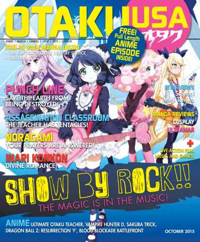 Otaku issue October 2015