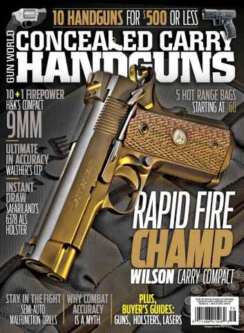 Conceal and Carry issue Fall 2015