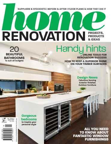 Home Renovation issue Vol 10 No 4 2015