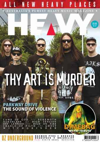 HEAVY MAG issue Issue 15